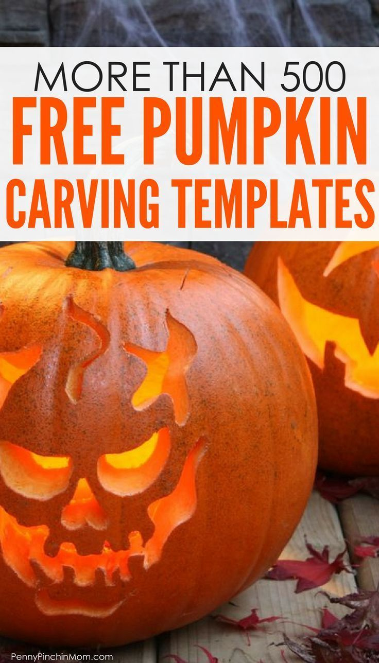 100s of Free Pumpkin Carving Stencils and Templates