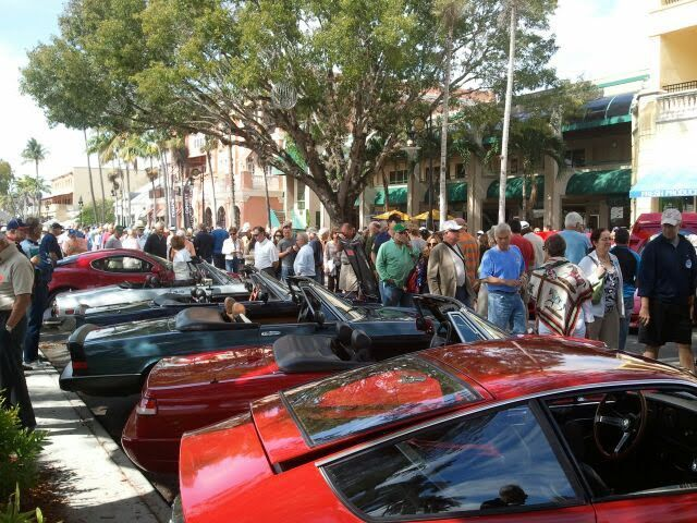 Naples Car Show >> Oh Yes There Is A Ferrari Club Of Naples Car Show On 5th