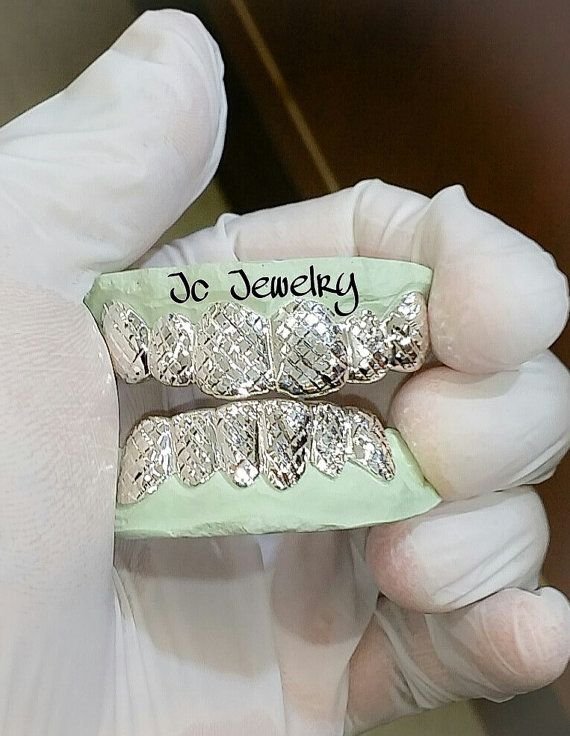 6 Top 6 Bottom Grillz Made In White Rose Or Yellow Gold 10k 14k Or Even Silver White Gold Grillz Grillz Bottom Grillz