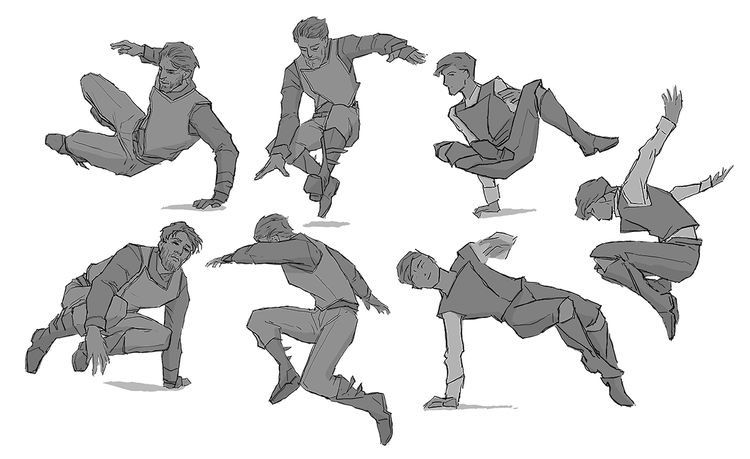 Pin By Master L On 'nªå½± Action Pose Reference Drawing Poses Jumping Poses Image of 364 best character pose fly jump images character. action pose reference drawing poses