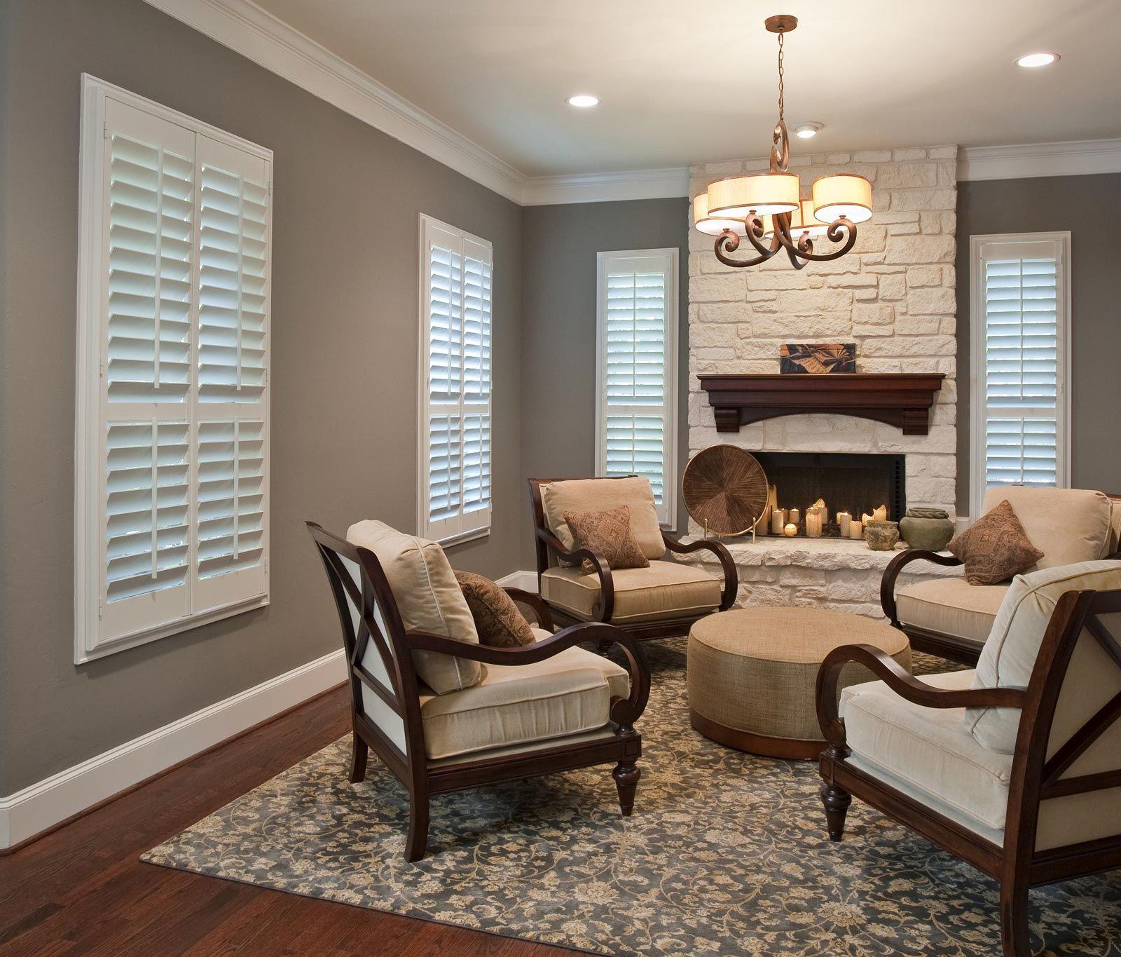 60 Shutters Ideas Shutters Norman Shutters Wood Shutters #plantation #shutters #in #living #room