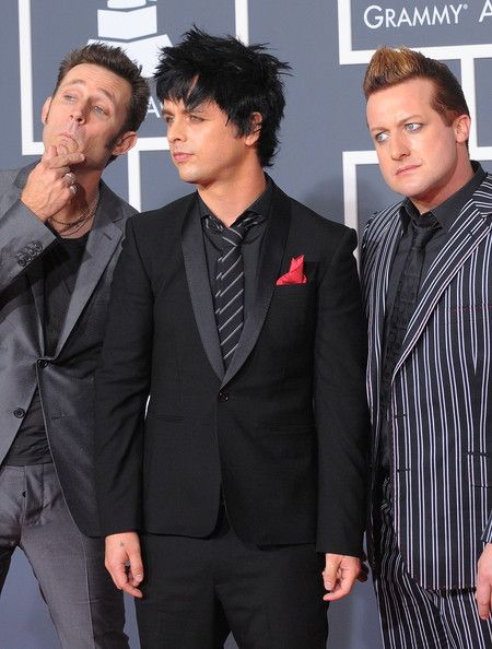 Green Day - 52nd Annual GRAMMY Awards held at Staples Center on January 31, 2010 in Los Angeles, California (arrival)