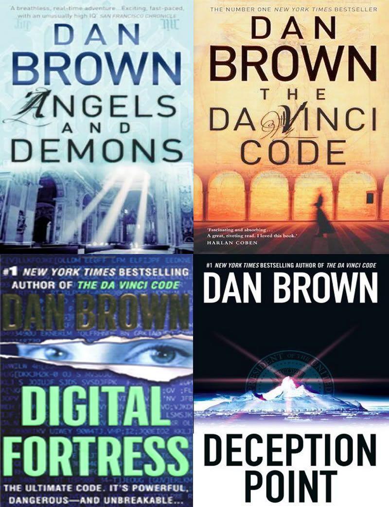 Angels and demons the da vinci code digital fortress the lost angels and demons the da vinci code digital fortress the lost symbol dan brownreading biocorpaavc