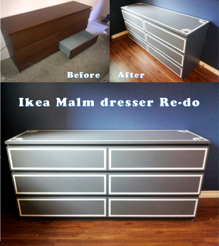 Ikea Malm Dresser Redo Got The Dresser From Craigslist