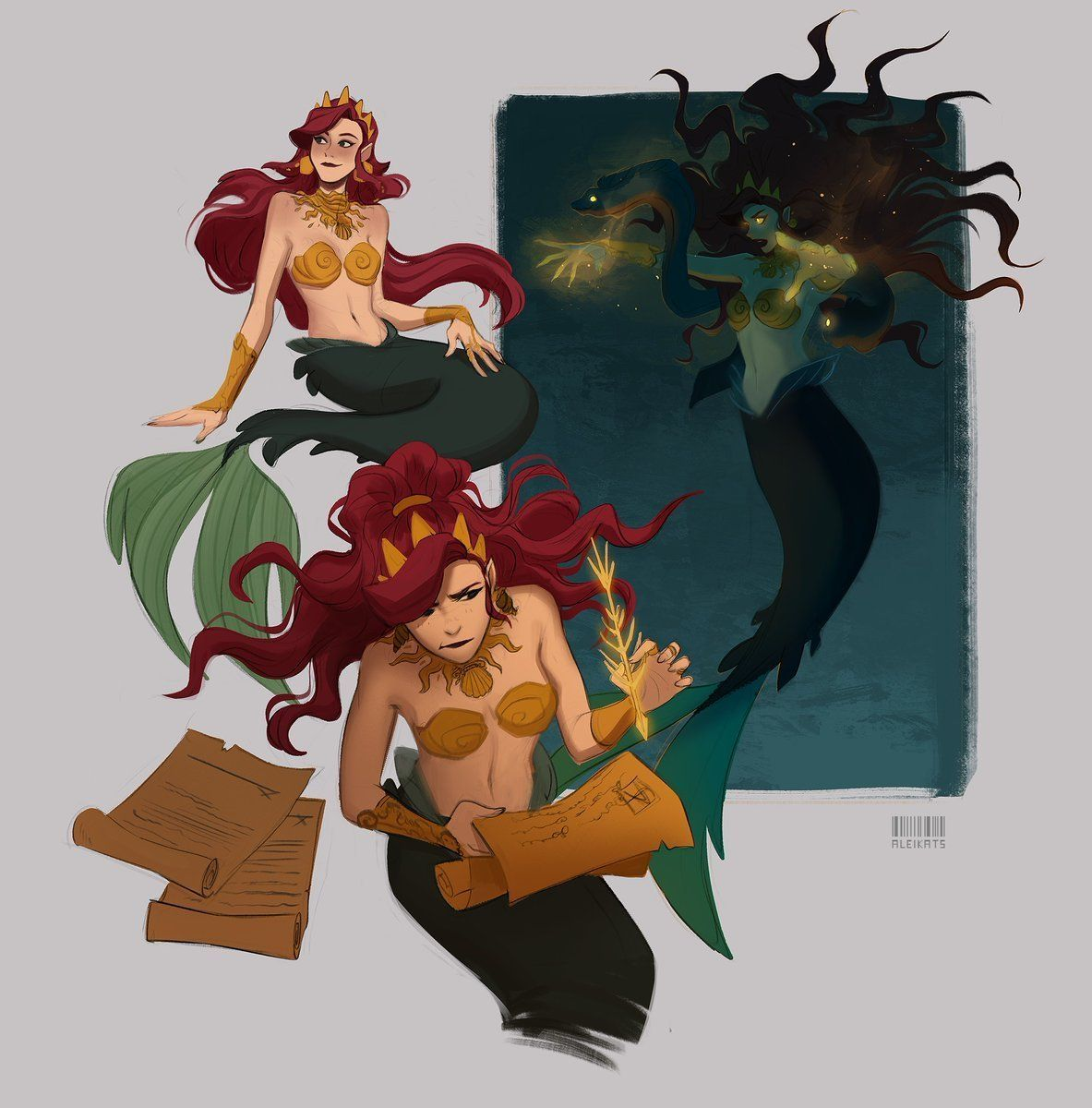 Fan Art: What If Ariel Was Evil?