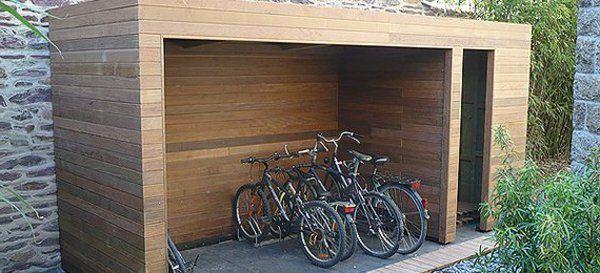 un abri de jardin design differents refuges abri v lo et bardage. Black Bedroom Furniture Sets. Home Design Ideas