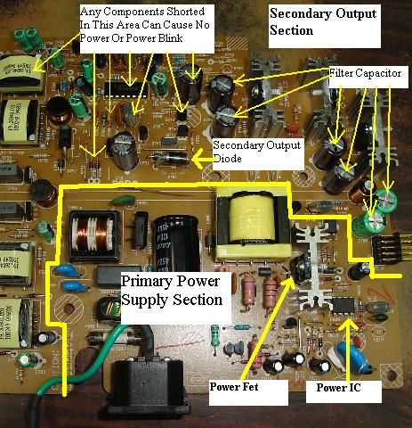 power supply repair guide power supply repair guide pinterest tech rh pinterest com Circuit Medics Circuits Repair Shelbyville IN