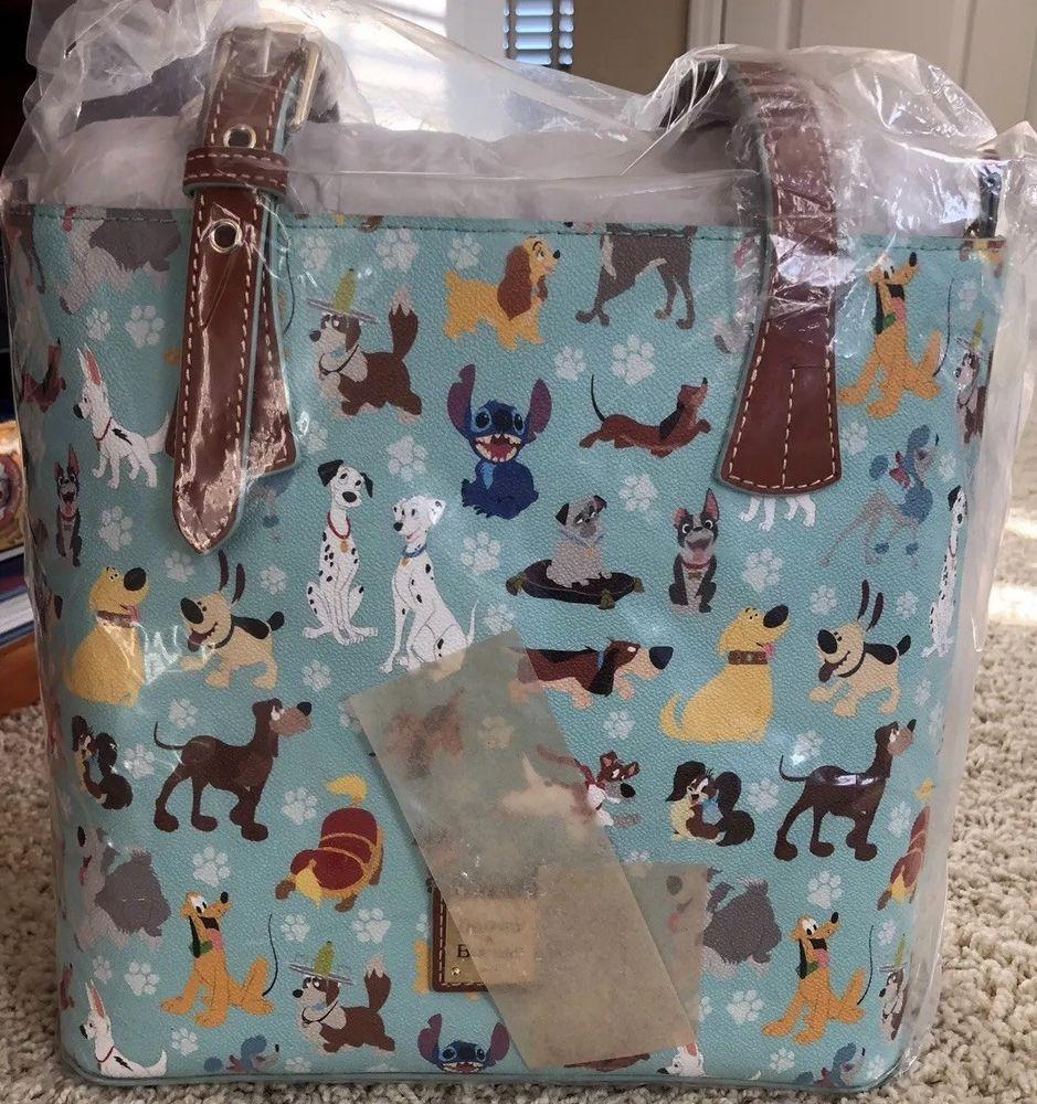 c0c9cf8872a5 NWT Dooney & Bourke Disney Dogs Emily Tote #Disneyana #Disney #WaltDisney