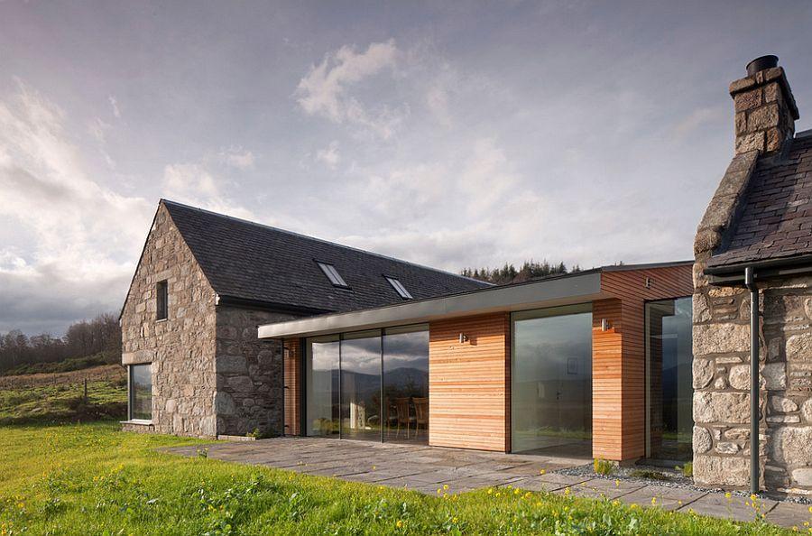 Modern Stone Cottage image result for modern stone cottage   clonkeen road   pinterest