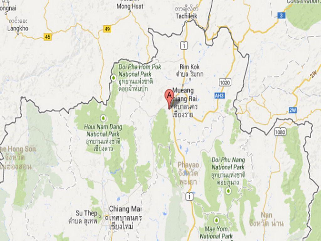 Fuerte réplica sacudió el norte de Tailandia