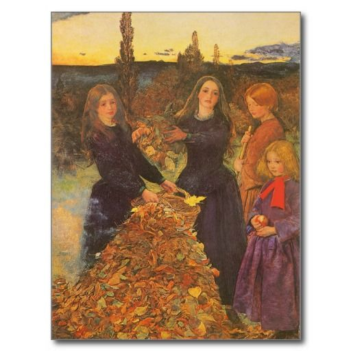 Image result for millais painting of girls and leaves