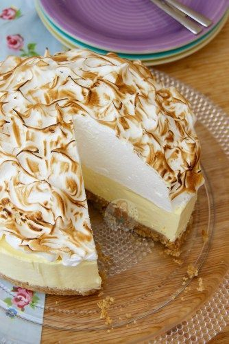 No Bake  Lemon Meringue Cheesecake #lemonmeringuecheesecake No Bake  Lemon Meringue Cheesecake #lemonmeringuecheesecake