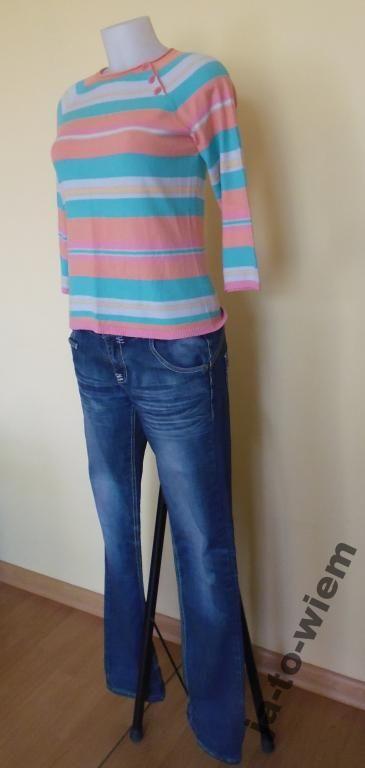 Sliczna Bluzka Dzianinowa Rozmiar L 4611072393 Oficjalne Archiwum Allegro Fashion Pants Jean