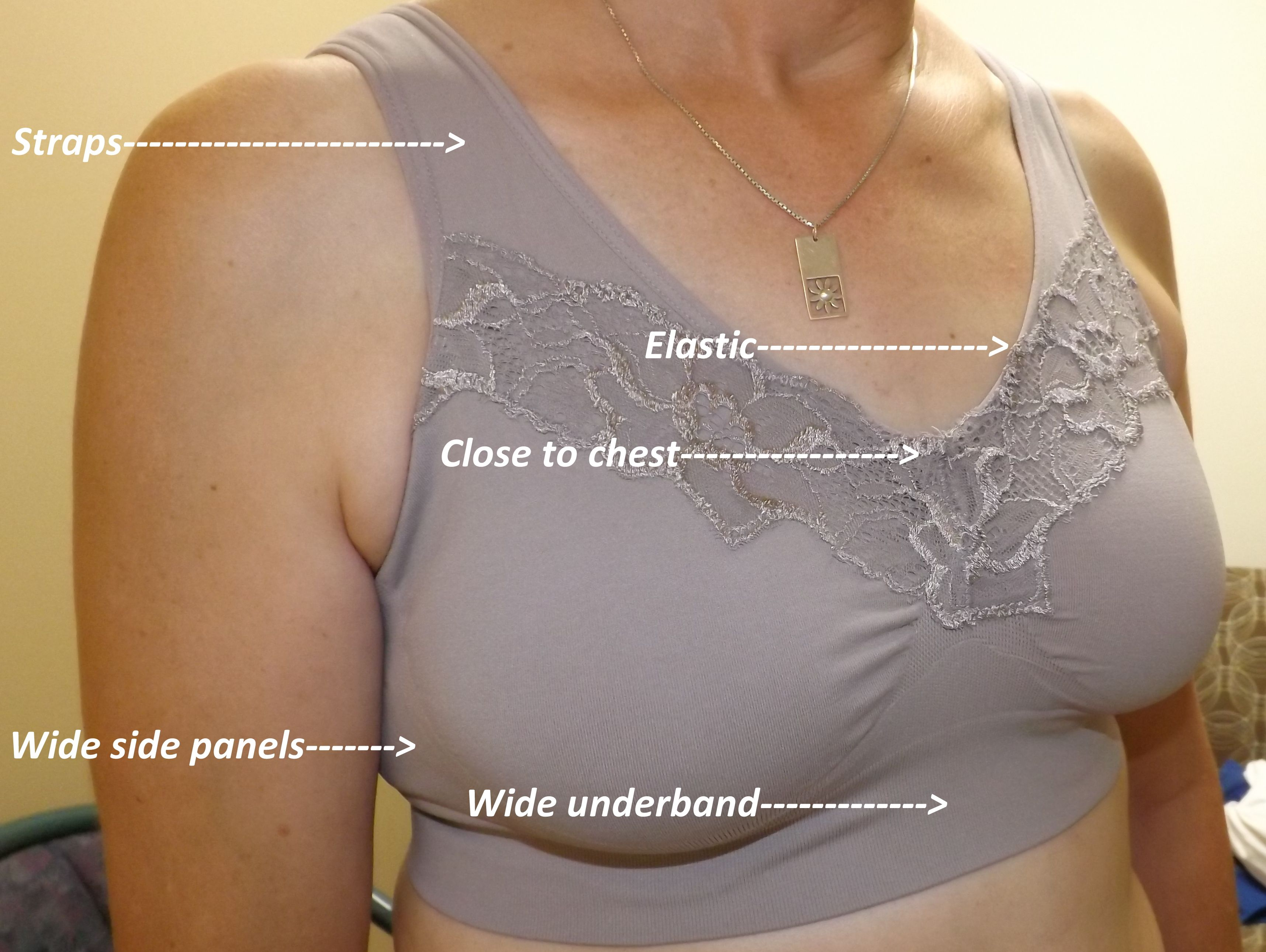 Finding the perfect bra for your custom silicone breast form ...