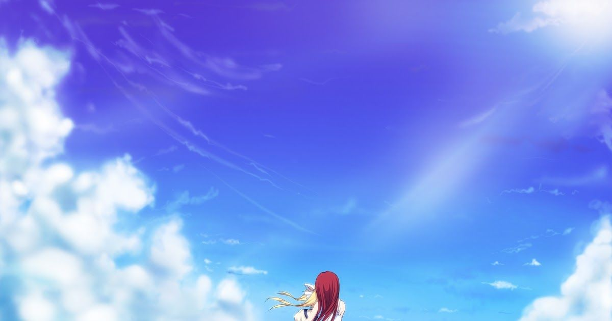 16 Anime Wallpaper 1920x1200 Hd Wallpaper 1920x1200 Px Anime Clouds 1920x1200 Download B In 2020 Anime Backgrounds Wallpapers Anime Wallpaper Download Dream Anime