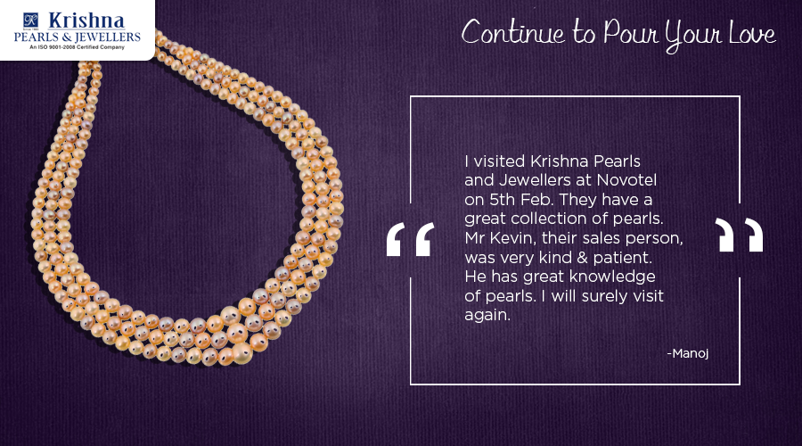 Thanks to your love and support, we continue to grow. Do drop in any of our stores to check out exclusive #Pearl, #Gold and  #Gemstone collection. Testimonial courtesy: https://www.tripadvisor.in/ #fashion #jewellery