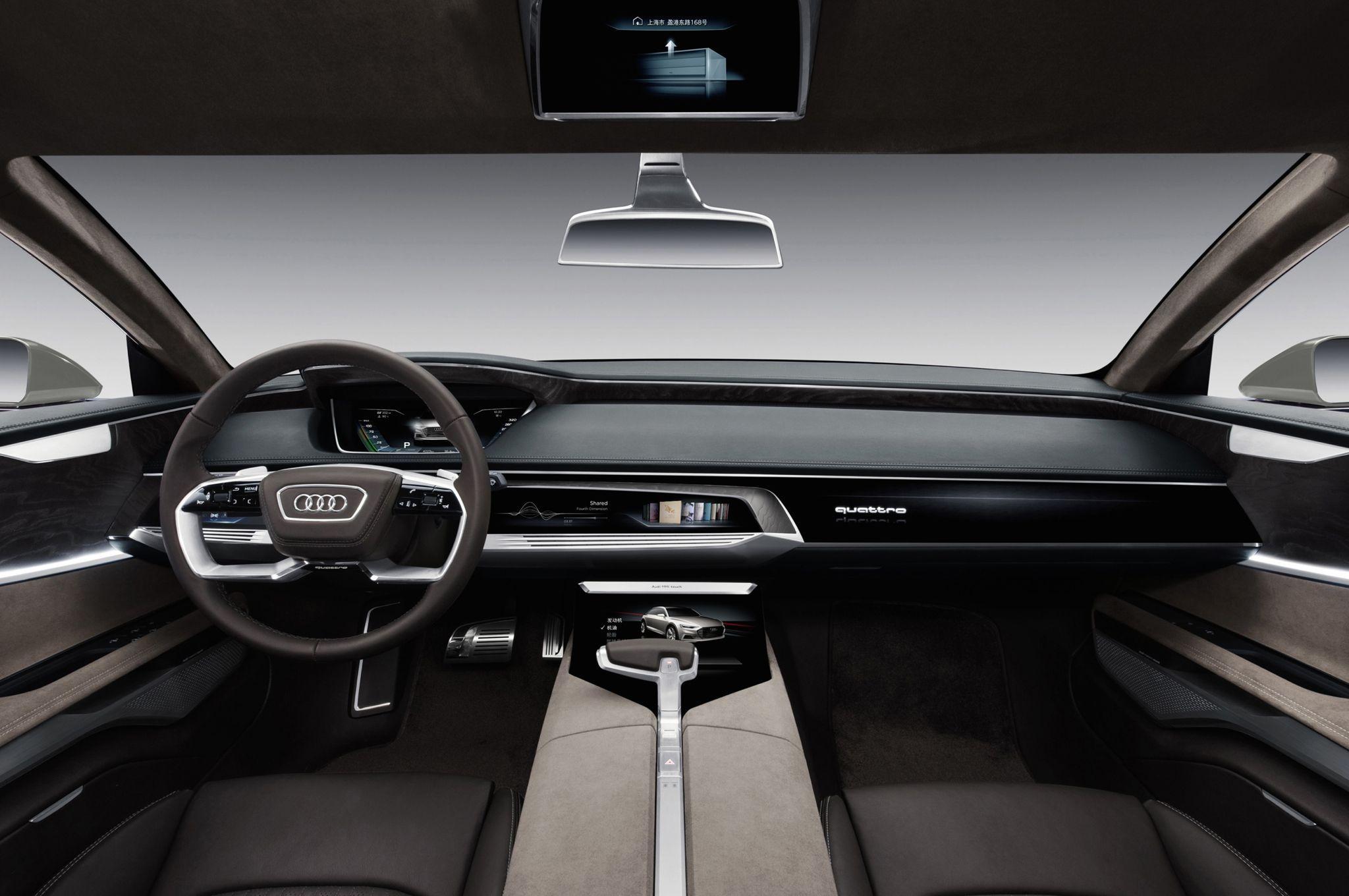 dashboard audi a9 - Google Search | Car | Pinterest | Audi, Audi a6 ...