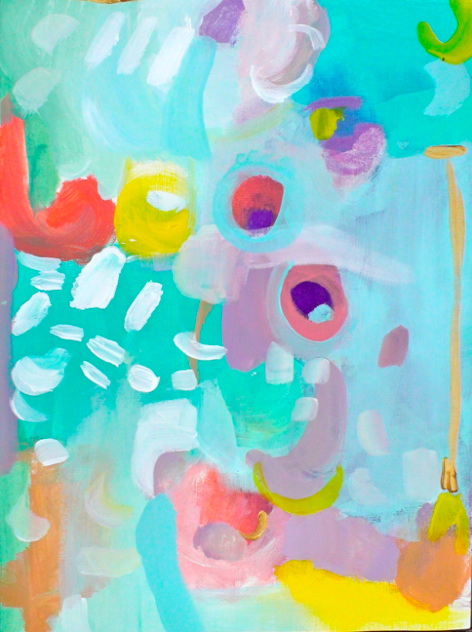 isla 12 x 16 acrylic on paper