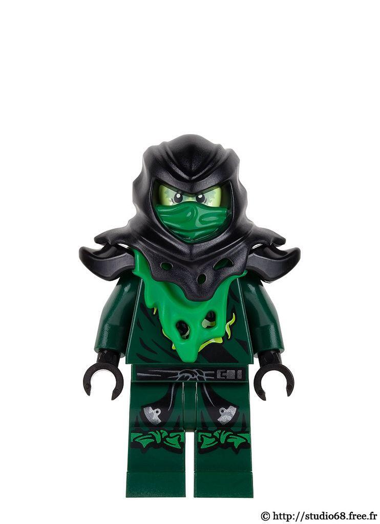 Evil Green Ninja Lego Custom Minifigures Lego Ninjago Movie Lego Super Heroes