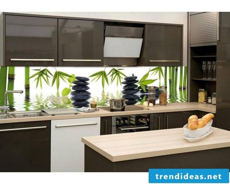 Foil kitchen back wall 21 favorable tendentious ideas Rückwand - rückwand für küche