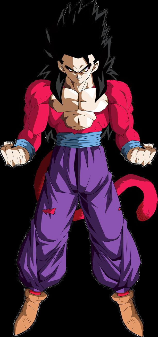 Super Saiyan 4 Gohan By Brusselthesaiyan Dragon Ball Super Manga Vegeta Super Saiyan 4 Dragon Ball Super Goku