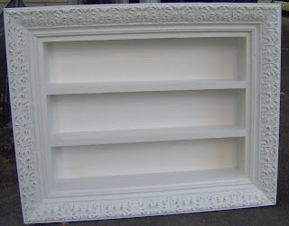 Picture Frame Shadow Box White Craft Pyssel Ideer