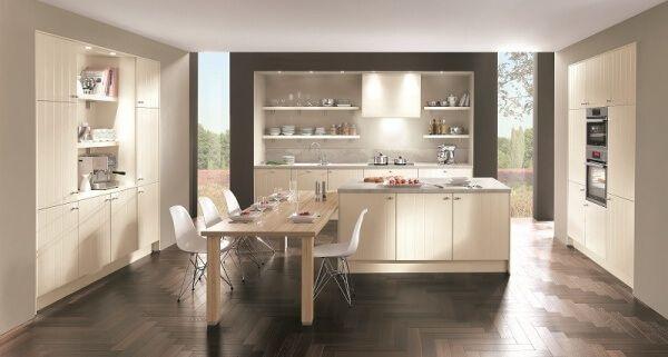 open kitchen design - Flair - classic kitchen - modern cottage style