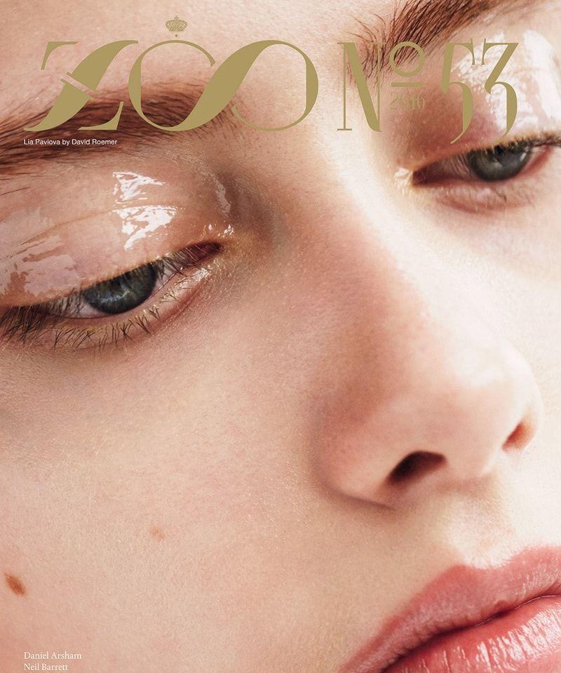 Lia Pavlova by David Roemer For ZOO Magazine Winter 2016 Cover