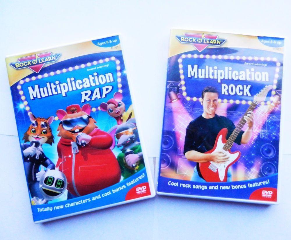 Multiplication RAP - Multiplication ROCK - Rock N Learn ...