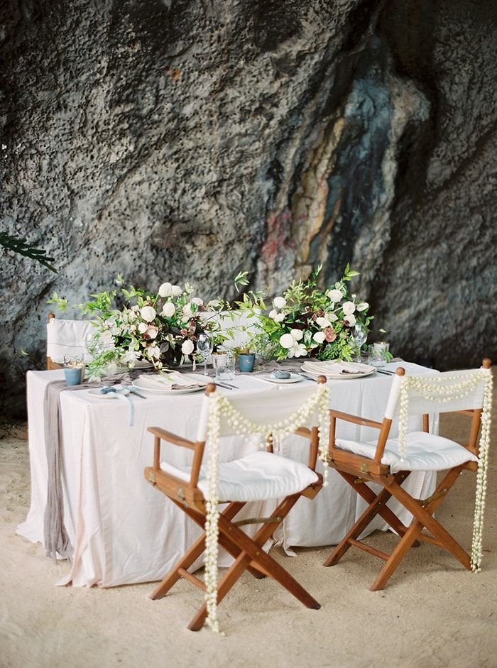 Whimsical Seaside Destination Wedding in Thailand