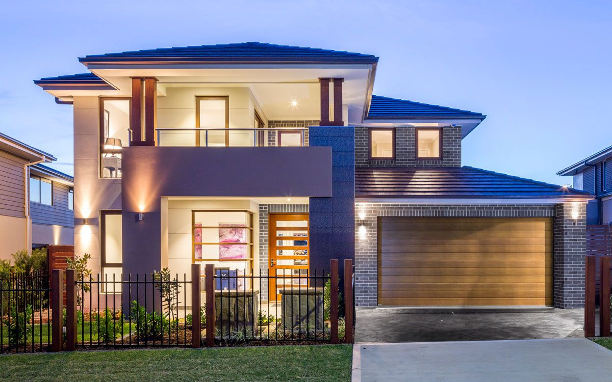 Glenleigh 39 double level by kurmond homes new home for Beach house plans nsw
