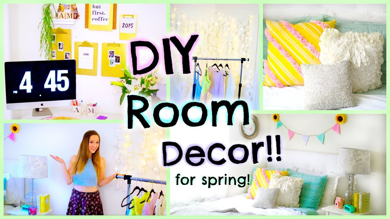 Room Decorations Diy Room Decor & Organization Ideas For Summer  Diy Projects