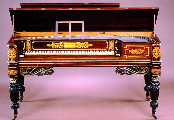 Square Piano Loud Brothers American Mahogany And Rosewood Veneer Case Satinwood Interior Decorated With Gilt Bor Piano Classical Music Spotify Playlist