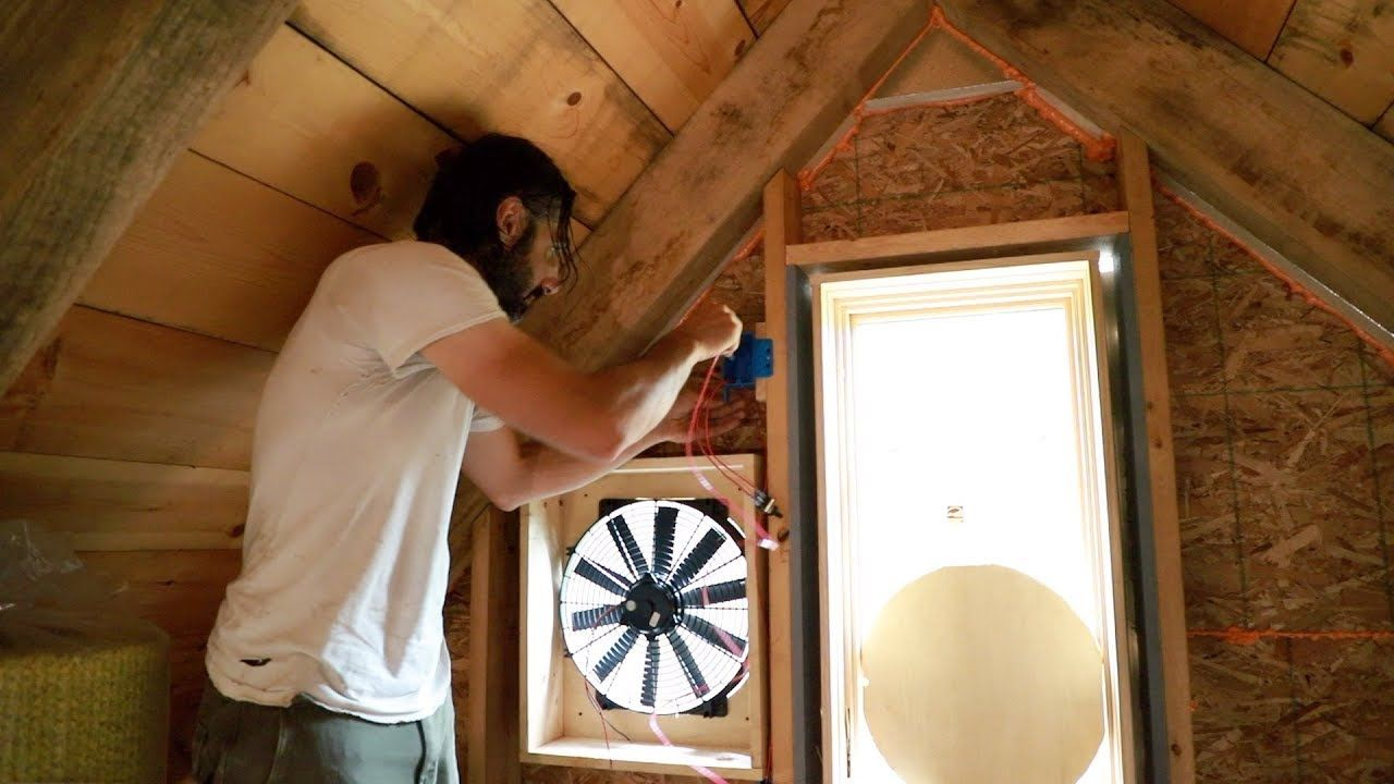 Off Grid Alternative to Air Conditioning? Making a Whole