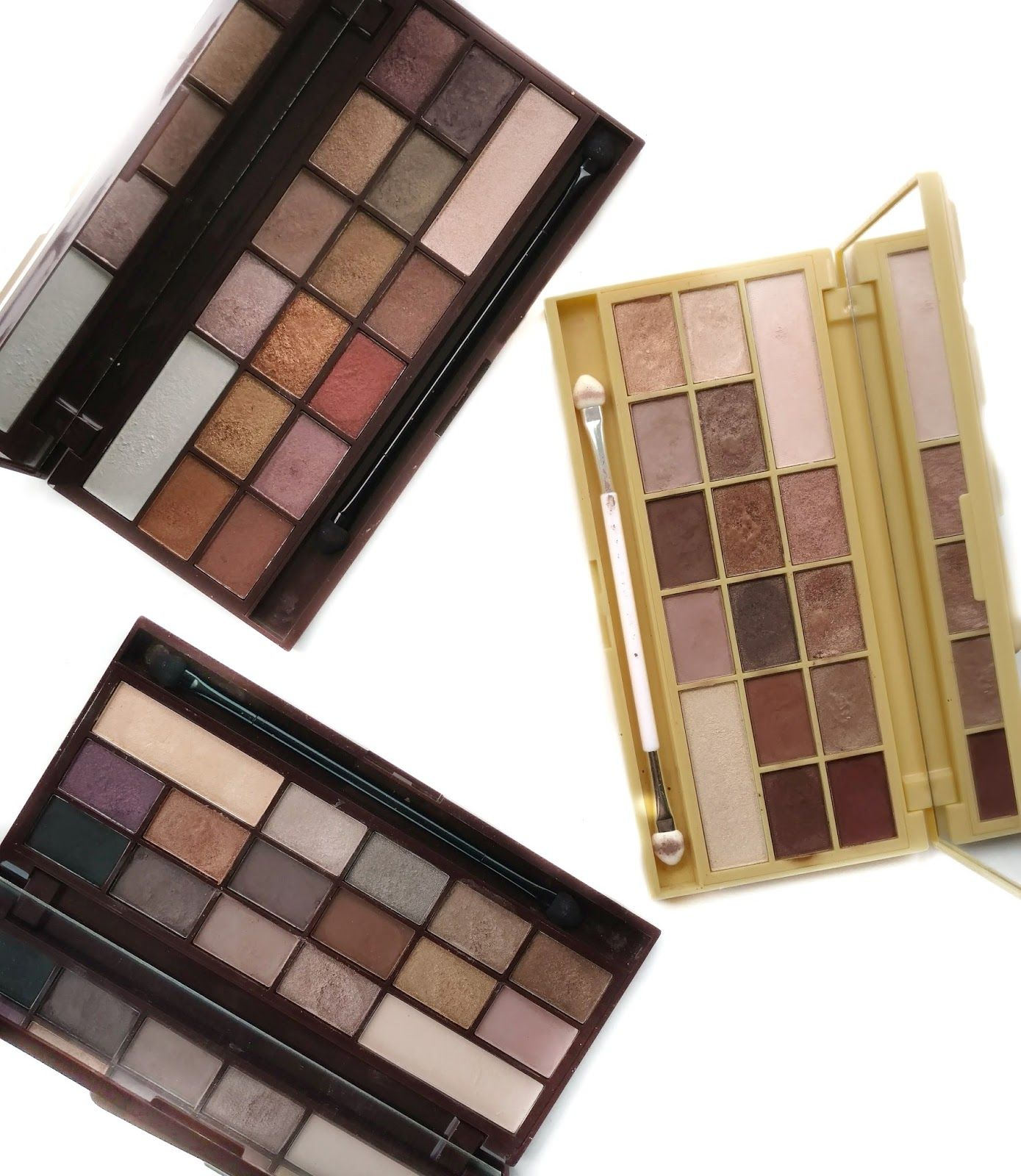 Makeup Revolution Chocolate Palettes Review & Swatches