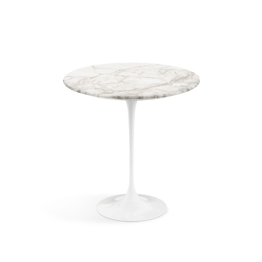 Saarinen 16 Inch Round Side Table.Saarinen Side Table 20 Round Knoll Nate Table
