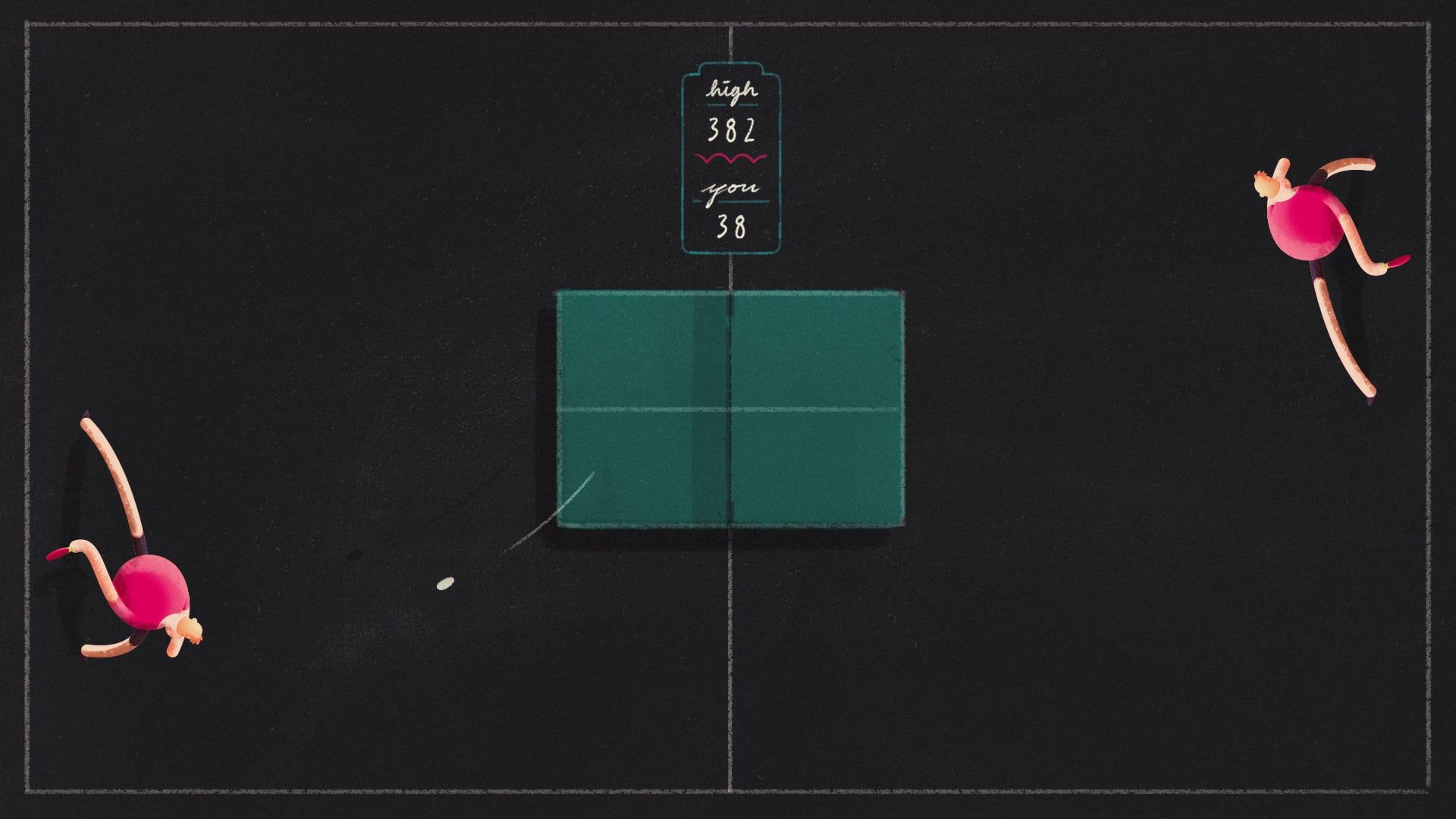 Ping Pong Run! | MOTION :: Animation | Iphone, Android apps