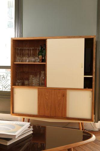 Meuble design mobilier annees50 buffet buffet vaisselier for Mobilier salle a manger design