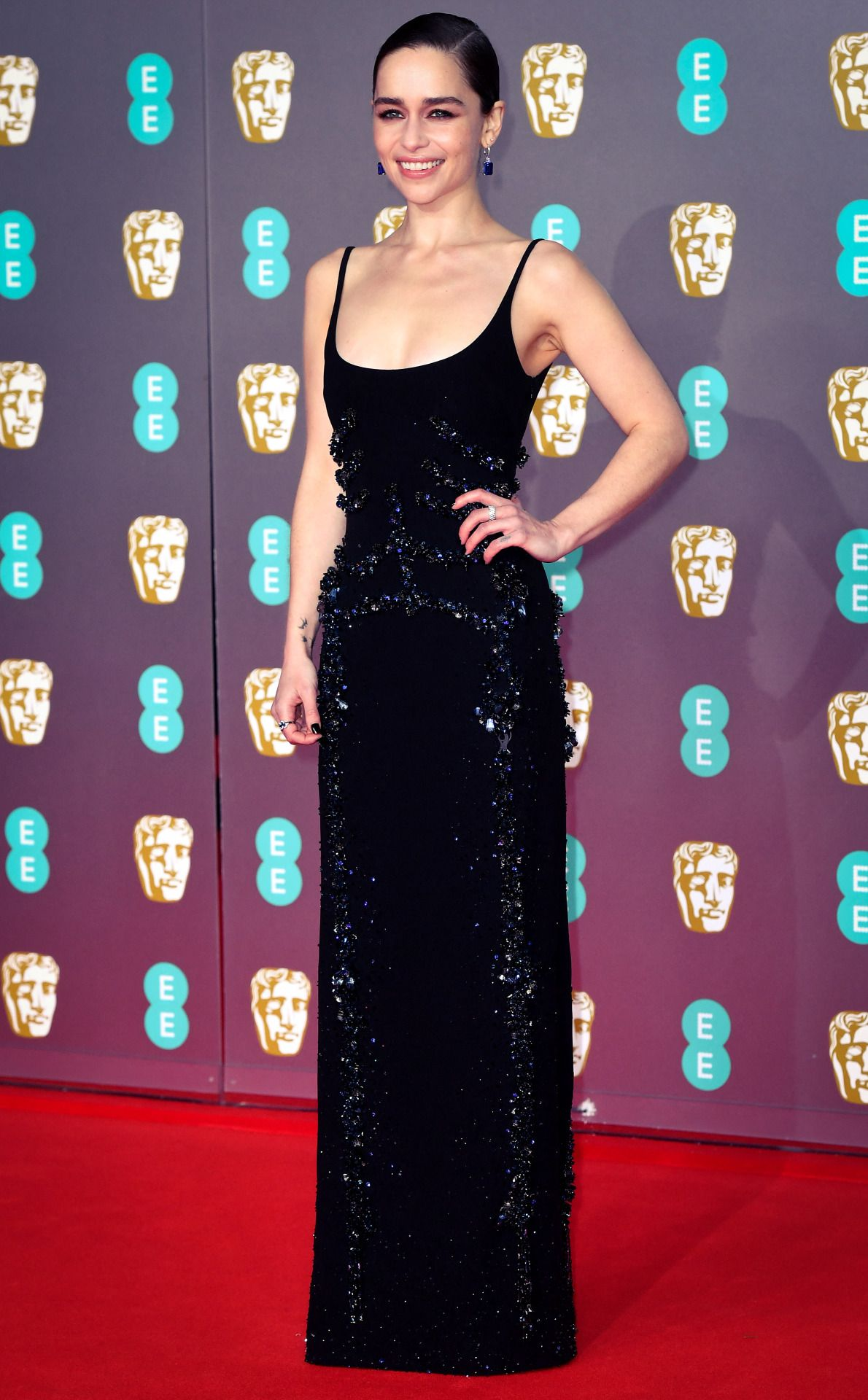 Fu T Emilia Clarke Attends The British Academy Film In 2020 British Academy Film Awards Emilia Clarke Royal Albert Hall