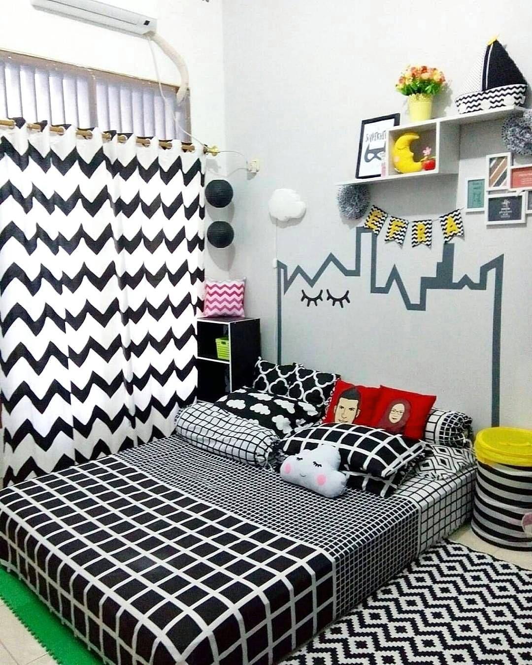 Dekorasi Kamar Tidur 3x3 Terbaru Dekorasi Kamar Tidur Pinterest