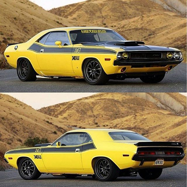The @hotchkis '70 Challenger Powered By A 340 With That