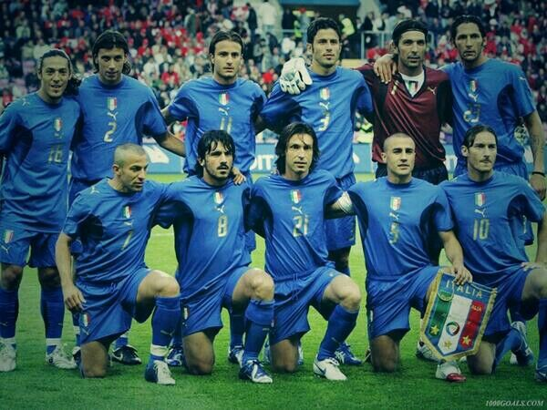 What a solid squad that was  Forza Azzuri  | Sports | Italian soccer