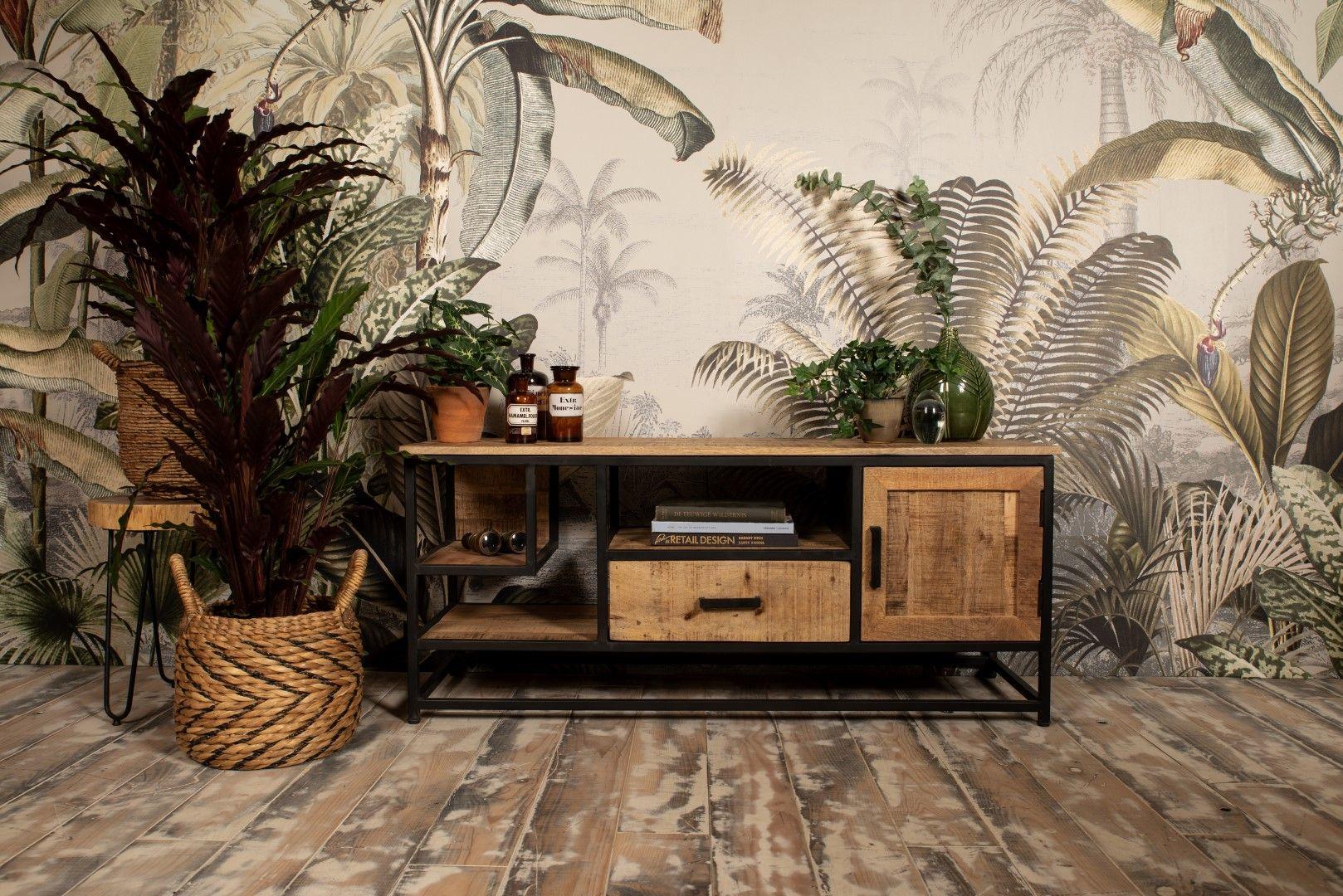 Tv Stand Mango Wood Iron Sideboards Tv Stands Henk Schram