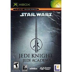 Star Wars Jedi Knight Jedi Academy Xbox Game Jedi Knight Star