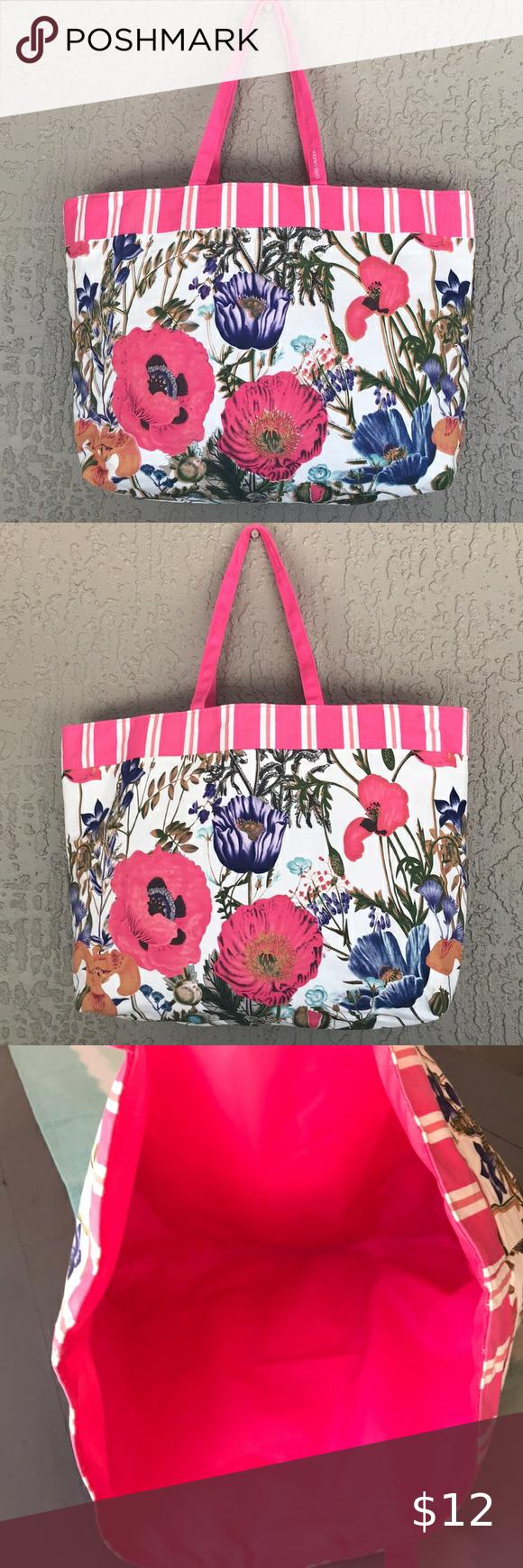 Estee Lauder Floral Design Tote Bag