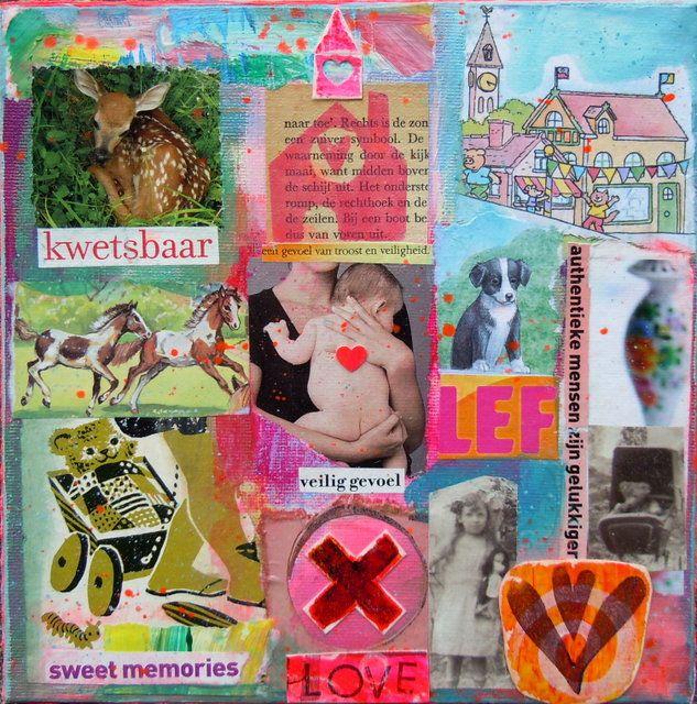 Ongekend Kunst-collage zelf maken: 10 tips om een kunst-collage te maken KA-02
