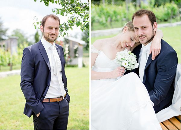 Die natürliche und romantische Hochzeit von Kathrin uns Sascha