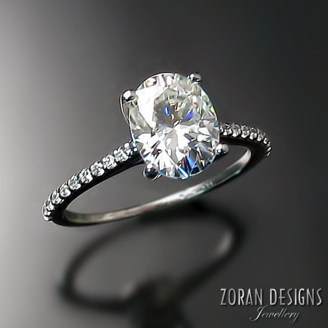 9285cdbe9b0b61 Custom Engagement Rings - Zoran Designs Jewellery Hamilton, ON ...