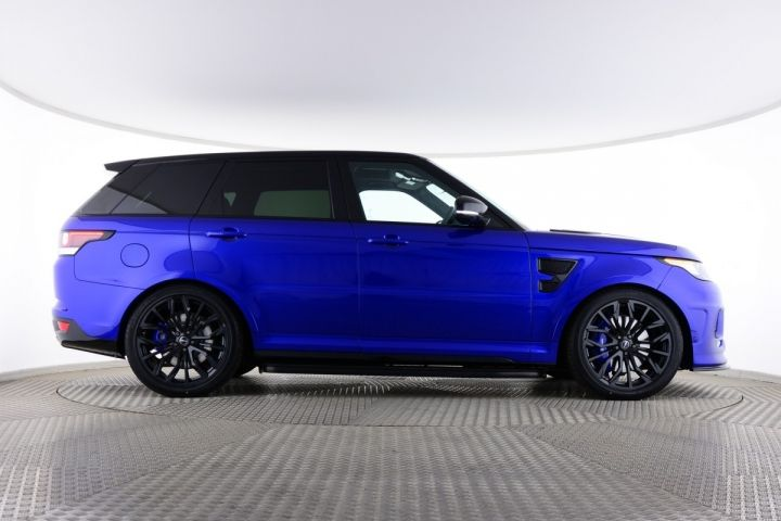 Used Land Rover Range Rover Sport Supercharged V8 Urban Svr Blue For Sale Essex Kw66bfp Saxton 4x4 Range Rover Sport Best Luxury Cars Luxury Cars