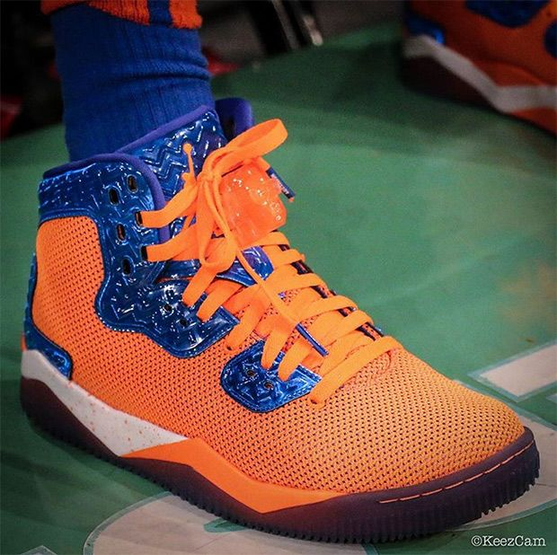 """cheap for discount 00049 3e03a kickzzondeck  """"Jordan Air Spike 40 """"Knicks""""Retail   180 Colors  Game  Royal-Total Orange-Black-White  Release Date  October 14, 2015 Like and  Reblog if you ..."""